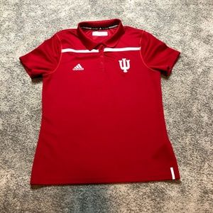 Indiana University Adidas Womens Polo